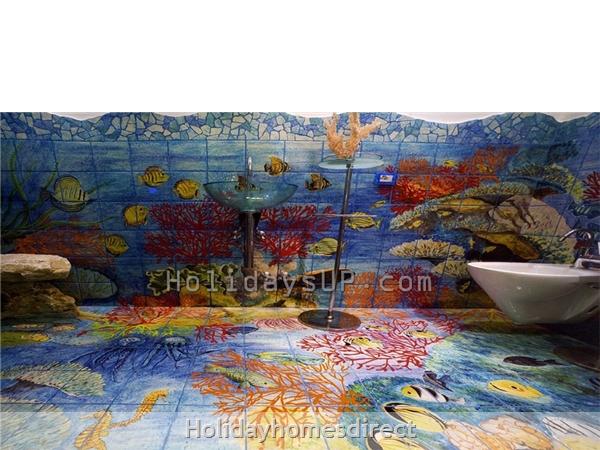 Bathroom sorrento villa holiday rentals guesthouse