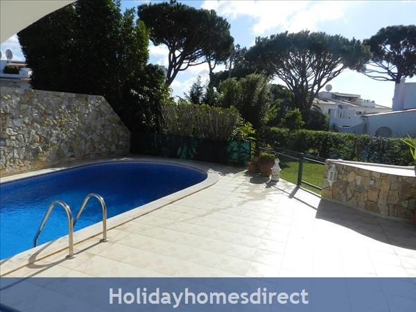 Villa Florides Vale Do Lobo 3 Bedroom Villa With Private Pool: Pool area