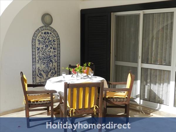 Villa Florides Vale Do Lobo 3 Bedroom Villa With Private Pool: Terrace
