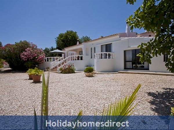Algarve Vila Maria: A front view of the Villa