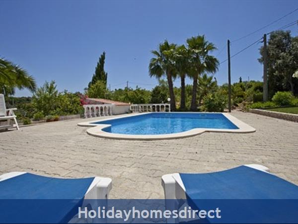 Algarve Vila Maria: Pool area