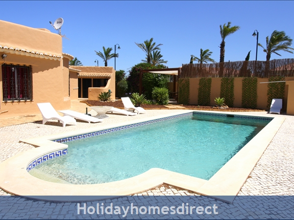 Villa Bibi.. Detached Private Villa With Large Pool And Lots Of Space.: Large Pool and a big garden area