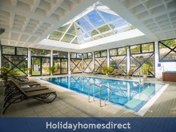 indoor swimming pool in Vilar do Golf in Portugal