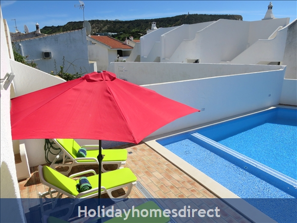 Casa Maresol .. Praia Da Luz. 3 Minutes Walk To The Blue Flag Beach !: Fantastic new Pool with shallow child section