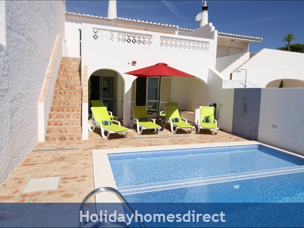 Casa Maresol .. Praia Da Luz. 3 Minutes Walk To The Blue Flag Beach !: Sea View, private pool, walk to blue flag beach