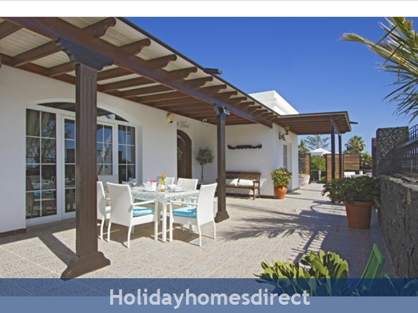 Villa Ocean View With Private Pool, Puerto Del Carmen, Lanzarote: Image 3