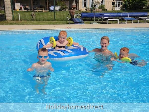 La Chouette- Bel Air Gites: pool