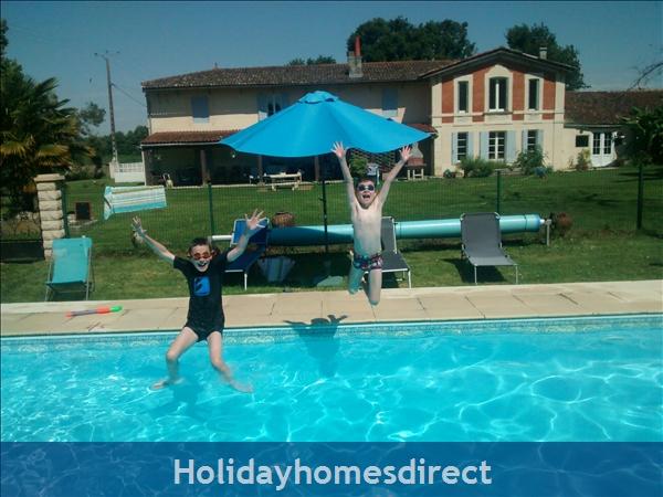 Les Chenes 2 - Bel Air Gites: pool