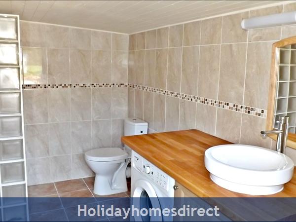 Les Chenes 2 - Bel Air Gites: bathroom