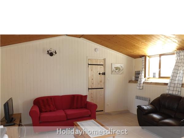 Les Chenes 1 - Bel Air Gites: Living room