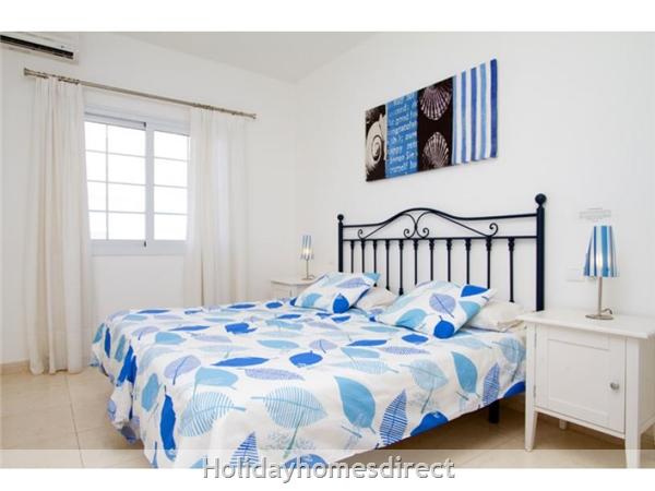 Villa Acentejo With Private Pool, Puerto Calero, Lanzarote: Bedroom