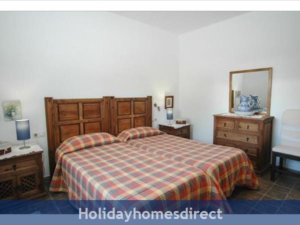 Villa Leona spare bedroom in Lanzarote
