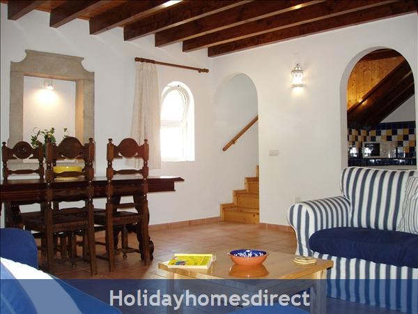 Casa Jasmina: 4. Living room & Dining area