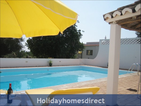 Villa Monte Palmeiras, Alvor, Western Algarve: Large private pool (10m x 5m) in gated walled area