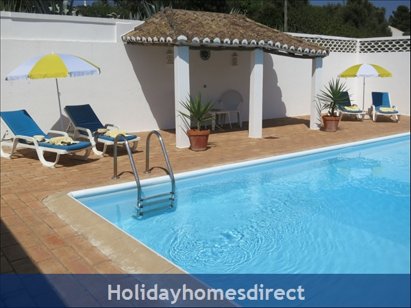 Villa Monte Palmeiras, Alvor, Western Algarve: Sun lounge beds provided for your enjoyment