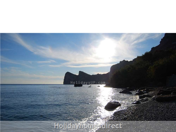 Marina del Cantone natural bay beaches (Nerano)