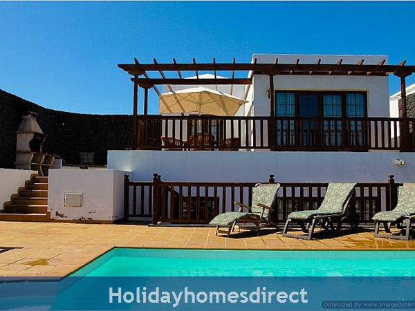 Villa Concha (261708) With Private Pool, Playa Blanca - Sleeps 10