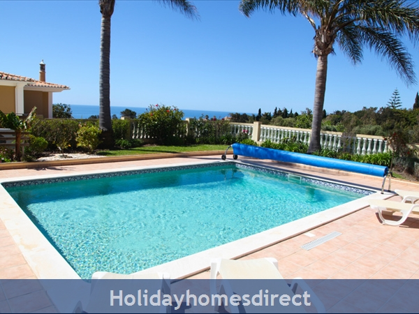Casa G. With Sea Views, Private Pool And Gated Community.: Private Pool, spacious patio