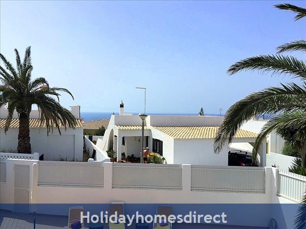 Quinta Bela Vista Casa 28. Praia Da Luz. Detached Villa With Three Bedrooms And Private Pool.: Sea View from the Veranda