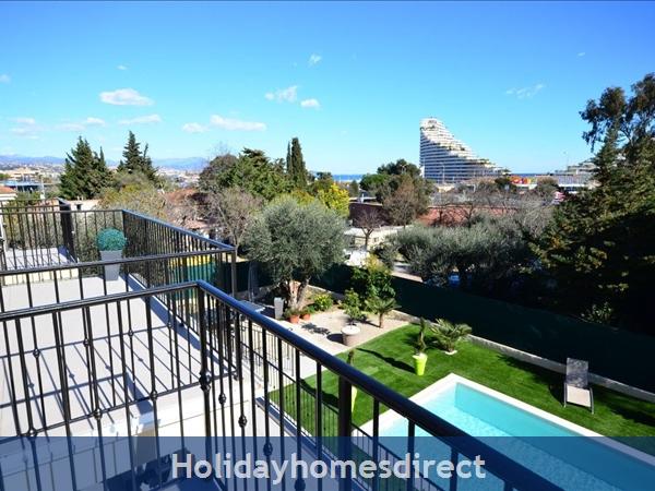 Villa Oceane, 4 Bedroom Villa With Private Pool: 1st floor view