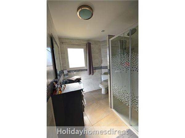 Bedroom on first floor with en suite shower room