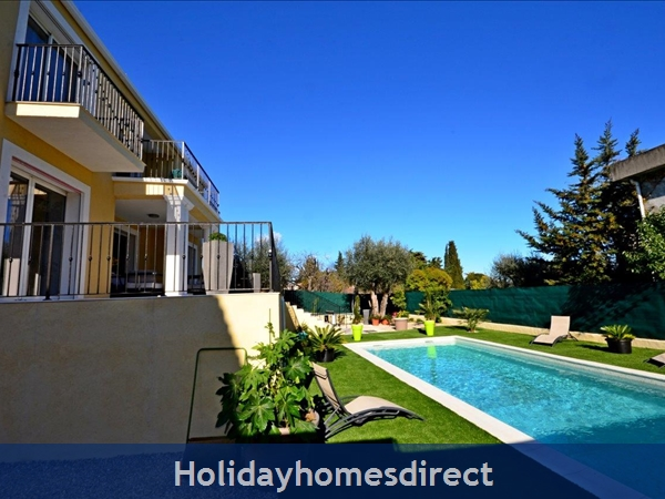Villa Oceane, 4 Bedroom Villa With Private Pool: Villa and pool