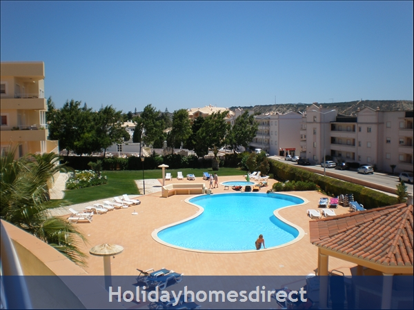Vilas Das Acacias Apartment Bg - Praia Da Luz. Walk Everywhere Including The Beach !: Lovely pool area includes a children's pool