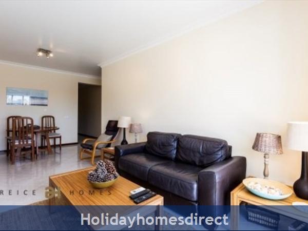 Vilamoura Near Marina & Beach (please See Property Location On Google Maps Image Above): Living room