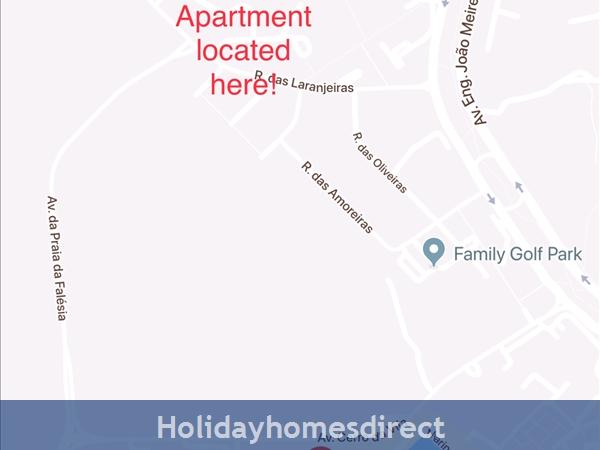 Vilamoura Near Marina & Beach (please See Property Location On Google Maps Image Above): Map
