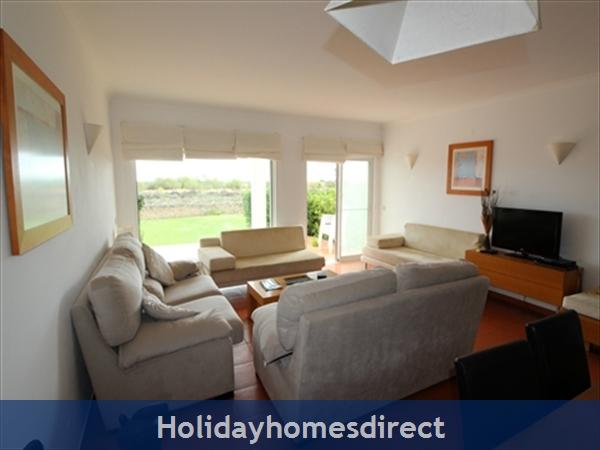 Seaview Townhouse In Golden Clube Resort Cabanas/tavira, Eastern Algarve.: Living Area