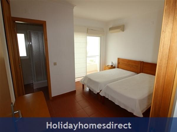 Seaview Townhouse In Golden Clube Resort Cabanas/tavira, Eastern Algarve.: Bedroom2