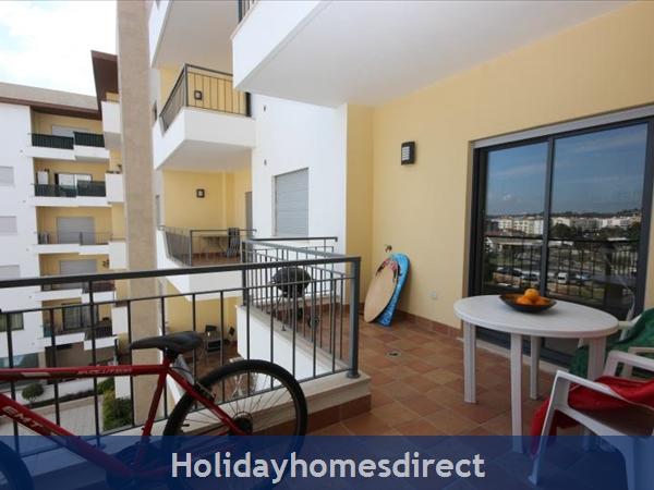 Apartment 211 Quinta Das Palmeiras: Apartments Algarve Rent balcony