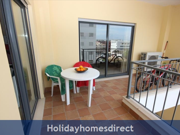 Apartment 211 Quinta Das Palmeiras: Apartments Algarve Rent balcony 2