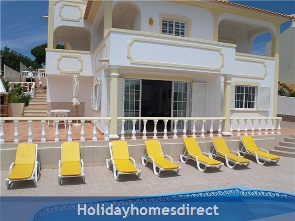 Villa Mariamar With 5 Bedrooms, Aircon, Wifi, Private Pool, Beach And Golf Nearby,  Albufeira , 10557/al, Portugal