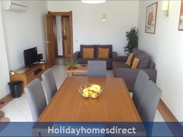Apartment In Albufeira Duplex Apartment With Sea Views, Pool, Garage, 2 Mins From Beach.: Image 9