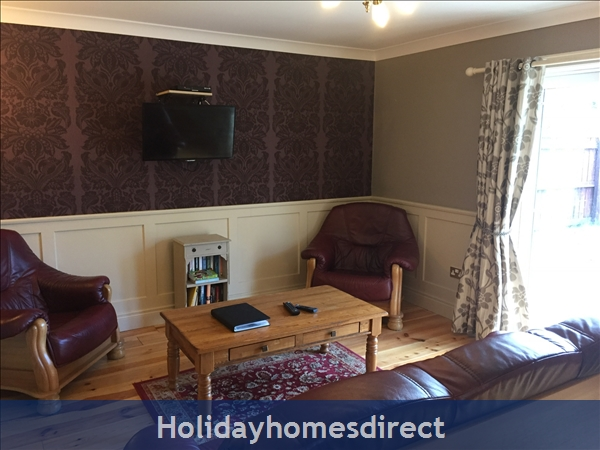 Kilcloon Self Catering Holiday Cottages: Tv lounge