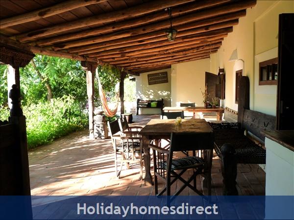 The Hub of Oxalá - the Long Veranda