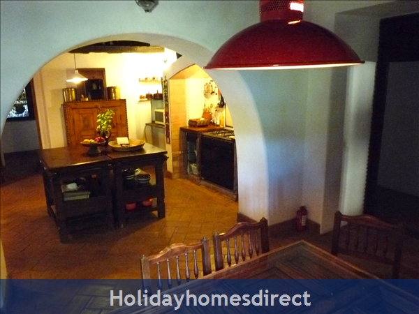 Quinta De Oxalá - Country House With Pool: Oxalá's Heart - Breakfast Table and the Kitchen