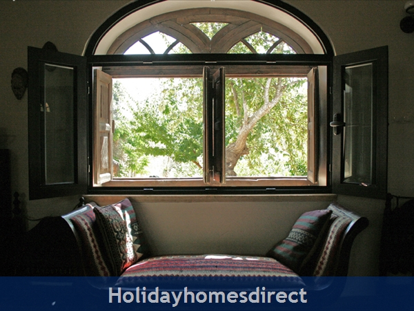 By the Plum Tree Window - a Chaise Longue