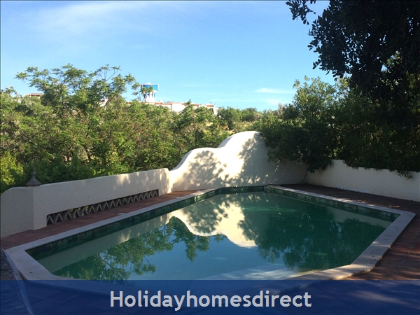 Quinta De Oxalá - Country House With Pool: The Pool in the Late Evening