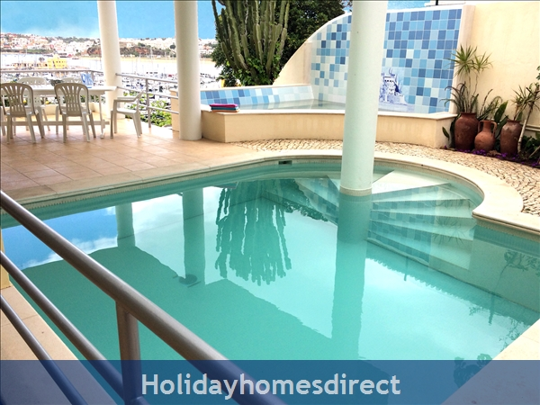 Villa Madrigal - By The Beach With Pool And Marina View: Two very Private Swimming Pools
