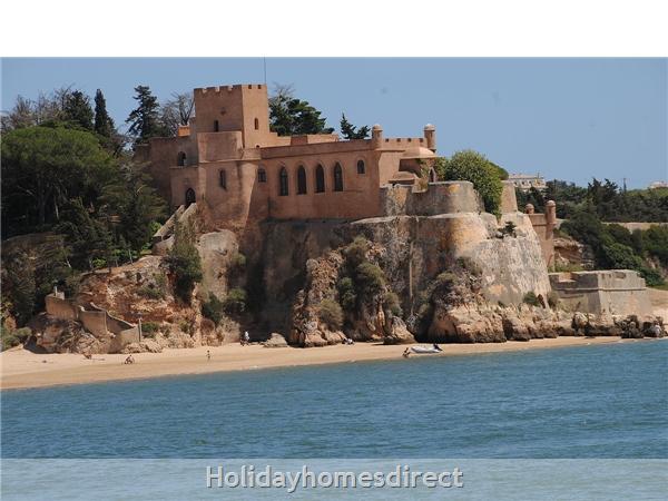 Castle across the Harbour