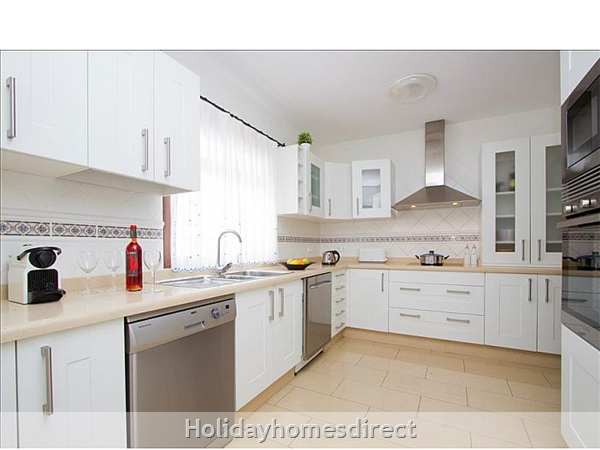 Villa Celeste fully equipped Kitchen