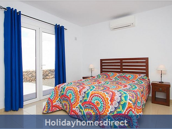 Villa Celeste double bed in Lanzarote
