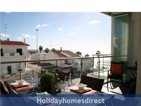 Sea-View Apartment Sereia 1 - great location by the Beach in Olhos D'Agua