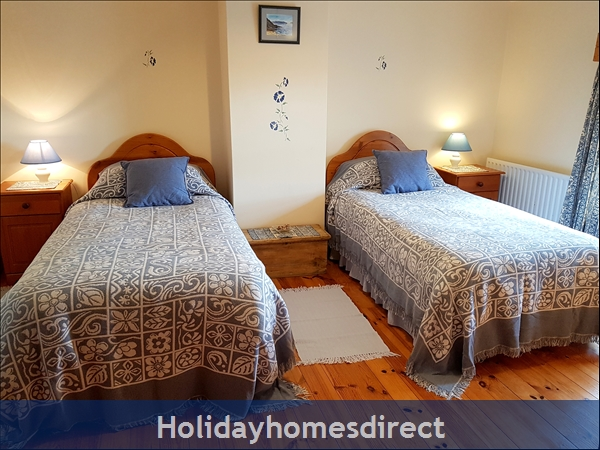 Doyle's Cottage ..  Between Waterford, Wexford And Kilkenny.. With Lots To See And Do !: Twin Bedroom