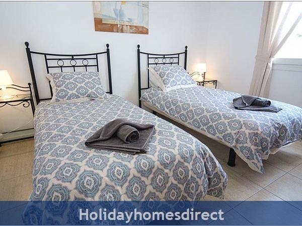 Villa Carol double bed bedrooms