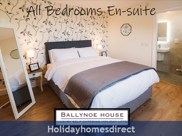 The Barn House (at Ballynoe House): All bedrooms En-suite