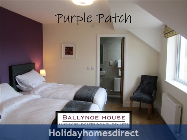 The Barn House (at Ballynoe House): Ardfield Bedroom (in twin configuration()