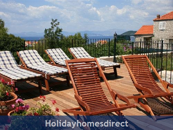 3 Bedroom Stone House With Pool In Mirca On Brac Island (bc027): Image 9